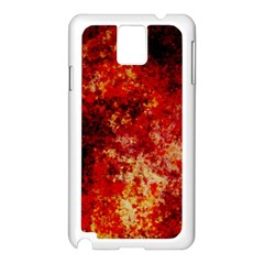 Background Art Abstract Watercolor Samsung Galaxy Note 3 N9005 Case (white)