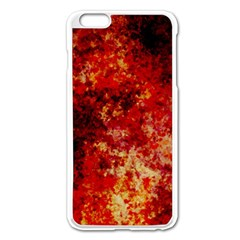 Background Art Abstract Watercolor Apple Iphone 6 Plus/6s Plus Enamel White Case by Nexatart