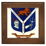 USS Jesse L Brown Emb Framed Tile