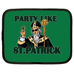 St  Patricks Day  Netbook Case (xxl)  by Valentinaart