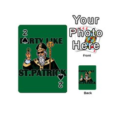 St  Patricks Day  Playing Cards 54 (mini)  by Valentinaart