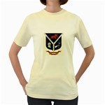 USS Jesse L Brown Emb Women s Yellow T-Shirt