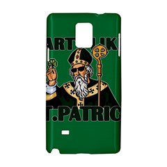 St  Patricks Day  Samsung Galaxy Note 4 Hardshell Case by Valentinaart
