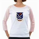 USS Jesse L Brown Emb Girly Raglan