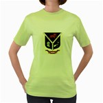 USS Jesse L Brown Emb Women s Green T-Shirt