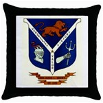 USS Jesse L Brown Emb Throw Pillow Case (Black)