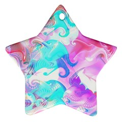 Background Art Abstract Watercolor Pattern Ornament (star)