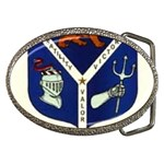 USS Jesse L Brown Emb Belt Buckle