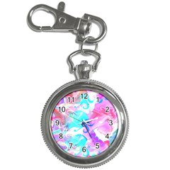 Background Art Abstract Watercolor Pattern Key Chain Watches