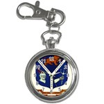 USS Jesse L Brown Emb Key Chain Watch