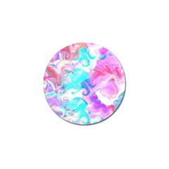 Background Art Abstract Watercolor Pattern Golf Ball Marker (10 Pack)