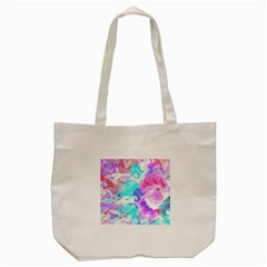 Background Art Abstract Watercolor Pattern Tote Bag (cream)