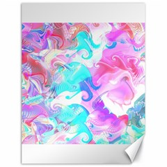 Background Art Abstract Watercolor Pattern Canvas 18  X 24
