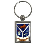 USS Jesse L Brown Emb Key Chain (Rectangle)