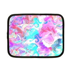 Background Art Abstract Watercolor Pattern Netbook Case (small)