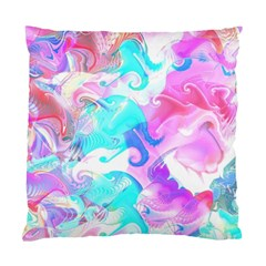 Background Art Abstract Watercolor Pattern Standard Cushion Case (two Sides) by Nexatart