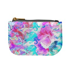 Background Art Abstract Watercolor Pattern Mini Coin Purses