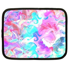 Background Art Abstract Watercolor Pattern Netbook Case (xl)