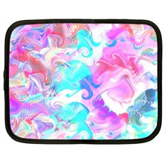 Background Art Abstract Watercolor Pattern Netbook Case (xxl)