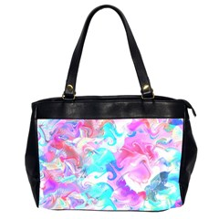 Background Art Abstract Watercolor Pattern Office Handbags (2 Sides)  by Nexatart