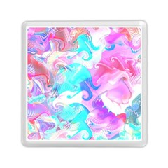 Background Art Abstract Watercolor Pattern Memory Card Reader (square)