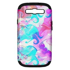 Background Art Abstract Watercolor Pattern Samsung Galaxy S Iii Hardshell Case (pc+silicone)