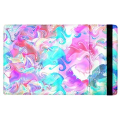 Background Art Abstract Watercolor Pattern Apple Ipad 2 Flip Case