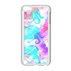 Background Art Abstract Watercolor Pattern Apple Ipod Touch 5 Case (white)