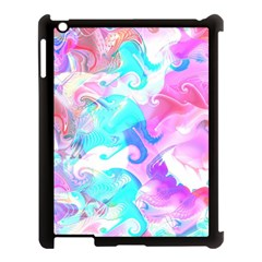Background Art Abstract Watercolor Pattern Apple Ipad 3/4 Case (black)