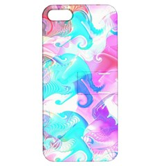 Background Art Abstract Watercolor Pattern Apple Iphone 5 Hardshell Case With Stand by Nexatart