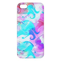 Background Art Abstract Watercolor Pattern Apple Iphone 5 Premium Hardshell Case