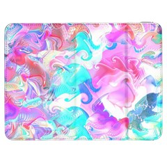 Background Art Abstract Watercolor Pattern Samsung Galaxy Tab 7  P1000 Flip Case