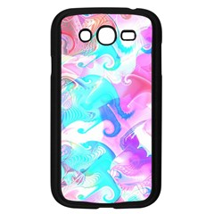 Background Art Abstract Watercolor Pattern Samsung Galaxy Grand Duos I9082 Case (black)