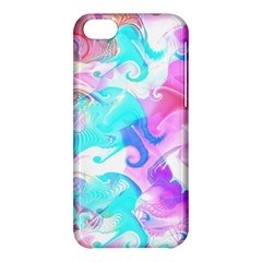 Background Art Abstract Watercolor Pattern Apple Iphone 5c Hardshell Case
