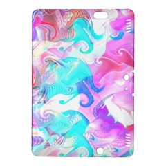 Background Art Abstract Watercolor Pattern Kindle Fire Hdx 8 9  Hardshell Case