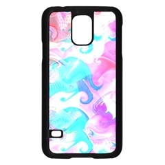 Background Art Abstract Watercolor Pattern Samsung Galaxy S5 Case (black)
