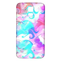 Background Art Abstract Watercolor Pattern Samsung Galaxy S5 Back Case (white)