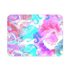 Background Art Abstract Watercolor Pattern Double Sided Flano Blanket (mini)  by Nexatart