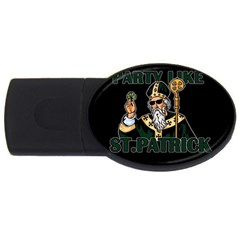 St  Patricks Day  Usb Flash Drive Oval (2 Gb) by Valentinaart