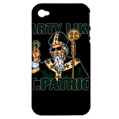 St  Patricks Day  Apple Iphone 4/4s Hardshell Case (pc+silicone) by Valentinaart