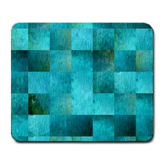 Background Squares Blue Green Large Mousepads