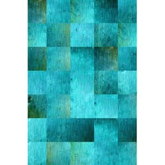 Background Squares Blue Green 5 5  X 8 5  Notebooks