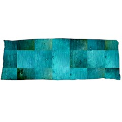 Background Squares Blue Green Body Pillow Case (dakimakura)