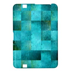 Background Squares Blue Green Kindle Fire Hd 8 9