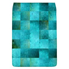 Background Squares Blue Green Flap Covers (l)