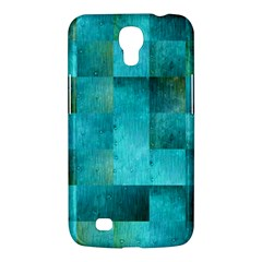 Background Squares Blue Green Samsung Galaxy Mega 6 3  I9200 Hardshell Case