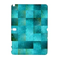 Background Squares Blue Green Galaxy Note 1