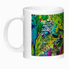Background Art Abstract Watercolor Night Luminous Mugs by Nexatart