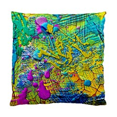 Background Art Abstract Watercolor Standard Cushion Case (two Sides)