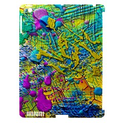 Background Art Abstract Watercolor Apple Ipad 3/4 Hardshell Case (compatible With Smart Cover) by Nexatart